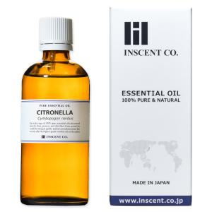 軽く甘みのあるレモンのような香り。防虫に良く使われています。  学 名:Cymbopogon nar...