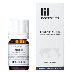 ミルラ(没薬) 5ml インセント エッセンシャルオイル アロマオイル 精油