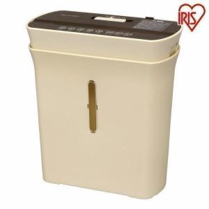 シュレッダー 家庭用 電動 マイクロクロスカット アイリスオーヤマ A4 3枚 同時裁断
