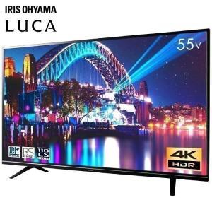 テレビ 55型 4k 液晶テレビ 新品 本体 アイリスオーヤマ LT-55A620の画像