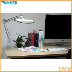 LEDダブルアームライトREFLECTECH Pro LE-H832W ホワイト ツインバード おしゃれ 子供 学習 机 つくえ LED 人気 シンプル|insdenki-y