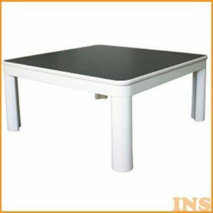 こたつ おしゃれ テーブル 正方形 105cm 一人用 EKA-110 ホワイト TEKNOS テクノス|insdenki-y