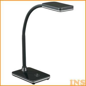 LEDデスクライト 昼白色 ブラック DS-LS16N-K オーム電機 (D)|insdenki-y