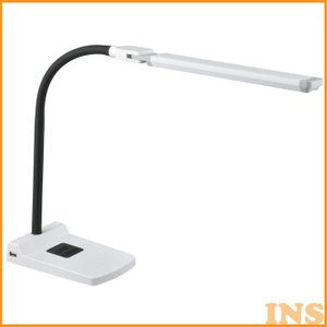 LEDデスクランプ 白 DS-LS36-W オーム電機 (D)|insdenki-y