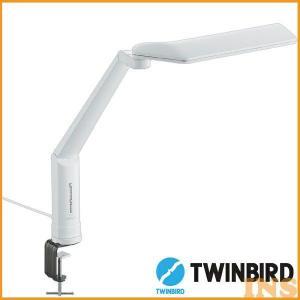 TWINBIRD ツインバード LEDクランプ式デスクライト LE-H635W|insdenki-y