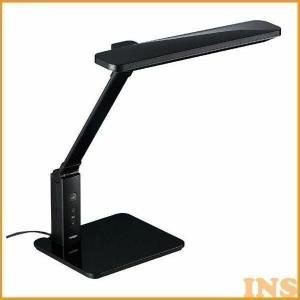 デスクライト スタンドライト TWINBIRD ツインバード LEDデスクライト LE-H616 10灯式 ブラック|insdenki-y
