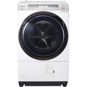 パナソニック ななめドラム洗濯乾燥機 11kg 左開き クリスタルホワイト NA-VX8900L-W...