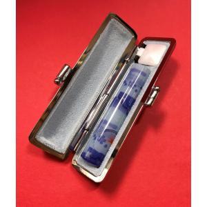 印鑑 個人用 はんこ おしゃれはんこ 銀行印 認印 ハンコ 可愛い かわいい 出産祝い 和ざいく 12mm ケース付き|insho-ueno