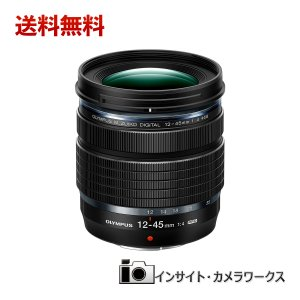 OLYMPUS マイクロフォーサーズレンズ M.ZUIKO DIGITAL ED 12-45mm F4.0 PRO 標準ズームレンズ 防塵防滴 小型軽量|insight-shop
