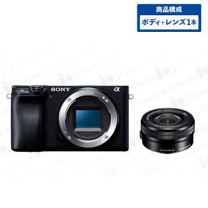 SONY α6400 ILCE-6400 ミラーレス一眼 ボディ ブラック + 標準ズームレンズセット E PZ 16-50mm F3.5-5.6 OSS SELP1650 ブラック|insight-shop