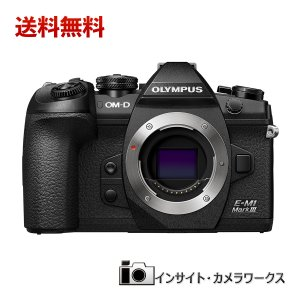 OLYMPUS ミラーレス一眼カメラ OM-D E-M1 MarkIII ボディ ブラック|insight-shop