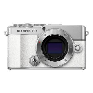 OLYMPUS ミラーレス一眼カメラ ミラーレス一眼 オリンパス PEN E-P7 ボディ ホワイト ペン 本体|insight-shop