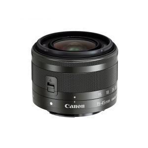 Canon 標準ズームレンズ EF-M15-45mm F3.5-6.3 IS STM ブラック グラファイト ミラーレス一眼対応 EF-M15-45ISSTM キヤノン 店舗仕様箱|insight-shop