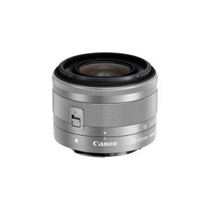 Canon 標準ズームレンズ EF-M15-45mm F3.5-6.3IS STM(シルバー) ミラーレス一眼対応 EF-M15-45ISSTMSL キヤノン SL|insight-shop