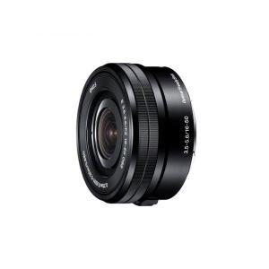 SONY 標準ズームレンズ E PZ 16-50mm F3.5-5.6 OSS SELP1650 ブラック ソニー|insight-shop