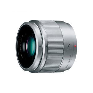 Panasonic LUMIX G 25mm/F1.7 ASPH. H-H025-S シルバー 単焦点レンズ パナソニック ルミックス|insight-shop