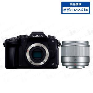Panasonic LUMIX ミラーレス一眼カメラ ミラーレス一眼 ミラーレスカメラ G8 ボディ + 単焦点レンズセット LUMIX G 25mm/F1.7 ASPH. H-H025-S シルバー|insight-shop