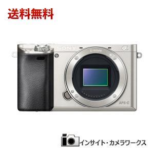 SONY ミラーレス一眼カメラ ミラーレス一眼 α6000 ボディ シルバー ILCE-6000 S ソニー|insight-shop