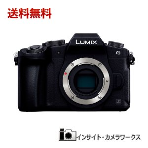 Panasonic LUMIX ミラーレス一眼カメラ ミラーレス一眼 G8 ボディ 1600万画素 ブラック DMC-G8-K パナソニック ルミックス|insight-shop