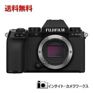 FUJIFILM ミラーレスデジタルカメラ X-S10 ボディ F X-S10 ブラック ミラーレス一眼 insight-shop