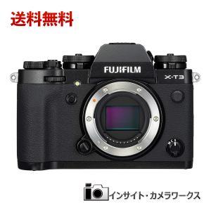 FUJIFILM ミラーレス一眼カメラ X-T3 ボディ 本体 ブラック X-T3-B フジフイルム 黒 insight-shop