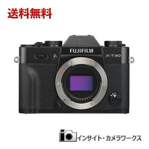 FUJIFILM ミラーレス一眼カメラ X-T30 ミラーレス一眼 ボディ ブラック X-T30-B デジタル一眼 insight-shop