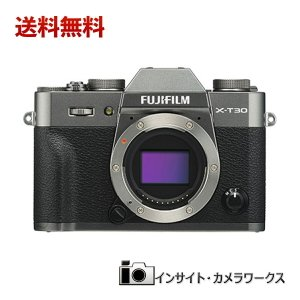 FUJIFILM ミラーレス一眼カメラ X-T30ボディ チャコールシルバー X-T30-CS insight-shop