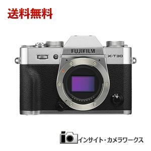 FUJIFILM ミラーレス一眼カメラ X-T30ボディ シルバー X-T30-S insight-shop