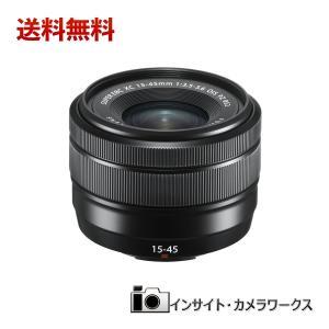 FUJIFILM フジノンレンズ XC15-45mmF3.5-5.6 OIS PZ ブラック フジフイルム 富士フイルム insight-shop