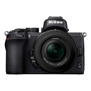 Nikon ミラーレス一眼カメラ Z50 ミラーレス一眼 レンズキット NIKKOR Z DX 16-50mm f/3.5-6.3 VR付属 Z50LK16-50 ニコン|insight-shop