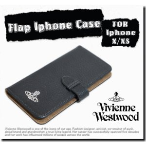 Vivienne Westwood Flap Iphone Case For iphone X/XS...
