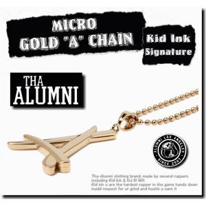 【期間限定SALE】【ユニセックス】/Tha Alumni Clothing MICRO GOLD ...