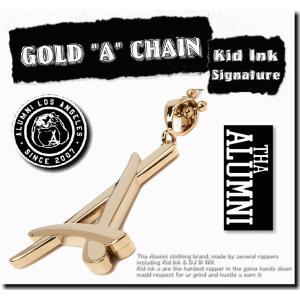 """【期間限定SALE】【ユニセックス】/Tha Alumni Clothing GOLD """"A"""" CH..."""
