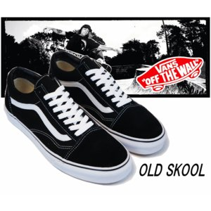 VANS OLD SKOOL BLACK/【バンズ オールド...