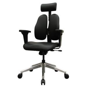 オフィスチェア ゲーミングチェア おしゃれ ハイバック 椅子 チェア デスク パソコン 作業チェア DUOREST ブラック DR-7550GD_SBK2 ドリームウェア (D)(B)|inskagu-y
