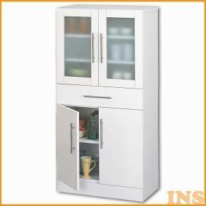 食器棚 収納 カップボード おしゃれ 幅60 カトレア キッチン収納 北欧 ナチュラル 23463 inskagu-y