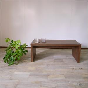 センターテーブル サイドテーブル 木製 ローテーブル 国産 和モダンセンターテーブル ウォールナット instcompany