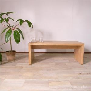 センターテーブル90幅 レトロスタイル リビングテーブルローテーブル/カントリー木製テーブル instcompany