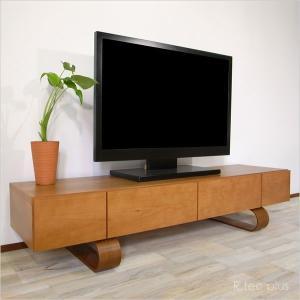 販売終了 テレビ台 おしゃれ 北欧 完成品 ブラックチェリー 幅160cm|instcompany