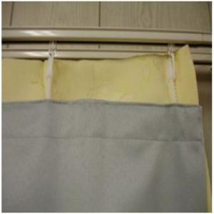 カーテン 遮光性ライナー 巾100×丈178cm
