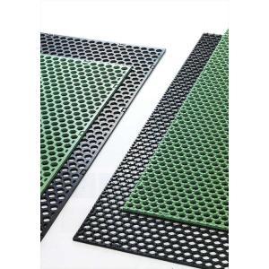 【代引き不可】グラスマットGW グリーン 15mm厚×1200mm幅×2000mm 芝生養生マット inter-shop