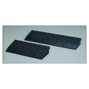 【代引き不可】段差プレート NDP-600 【2枚セット】 高さ100mm (段差解消スロープ)|inter-shop