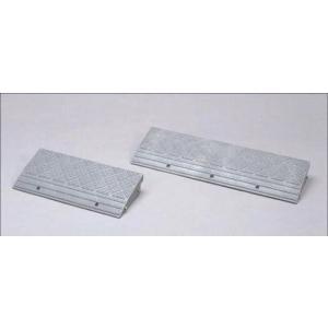 【代引き不可】段差プレート NDP-600E 【4枚セット】 高さ100mm (段差解消スロープ)|inter-shop