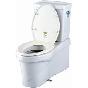【代引き不可】災害備蓄用仮設トイレ・クイックハウス下水道利用型  【302802】|inter-shop