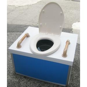【代引き不可】災害備蓄用仮設トイレ・クイックハウス貯留式(洋式)  【302803】|inter-shop