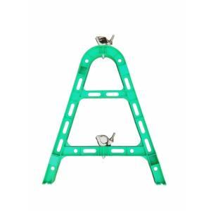 単管バリケード 樹脂 グリーン (代引き不可)|inter-shop