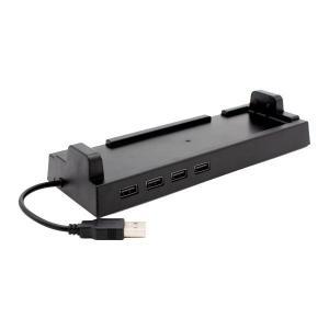 【同梱・代引き不可】  Switchドック用 4ポートUSBハブ ドックスタンド ANS-SW062