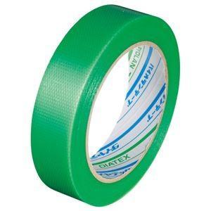 送料無料(まとめ) ダイヤテックス パイオランクロス粘着テープ 塗装養生用 25mm×25m 緑 Y...