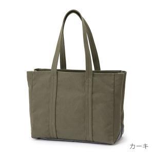 中川政七商店 帆布のワークバッグ  動く 仕切りのトートバッグ