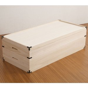 桐衣装箱 2段高さ27cm HI−0002|inter3i